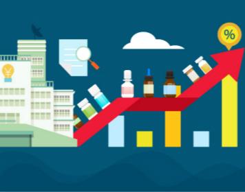 2018年上半年,我国药品终端市场销售8590亿元